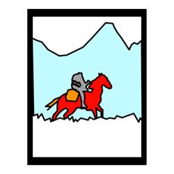 Cowboy-zonder-hoofd
