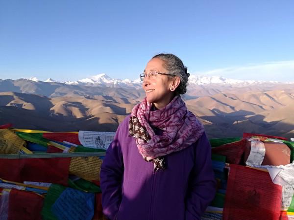 Sat Hari en el Kailash