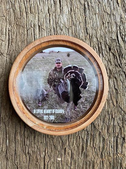 Personalized Photo Turkey Pot Call