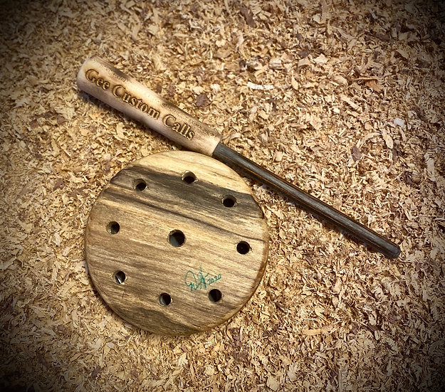 Turkey Pot Call - Spalted Maple