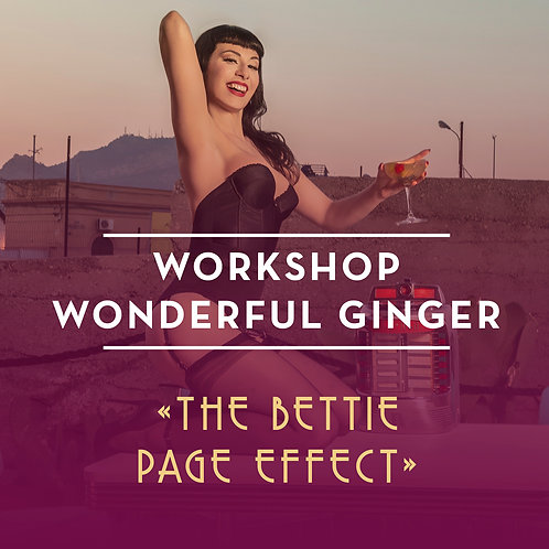 Workshop Wonderful Ginger, a las 12h.