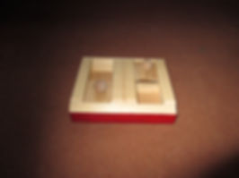 dog treat puzzle - 2 sliders
