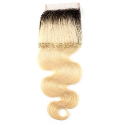 613 Closures w/1B Roots • Blonde Collection