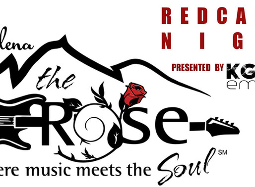 RED CARPET NIGHT AT THE ROSE