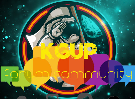 Introducing the KGUP Forum Community!