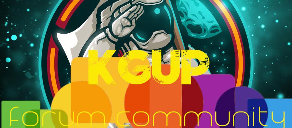 Introducing the KGUP Forum Community!
