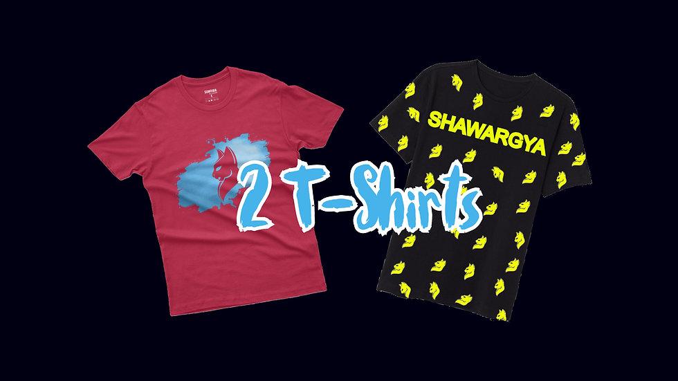 2 Simba T-Shirts