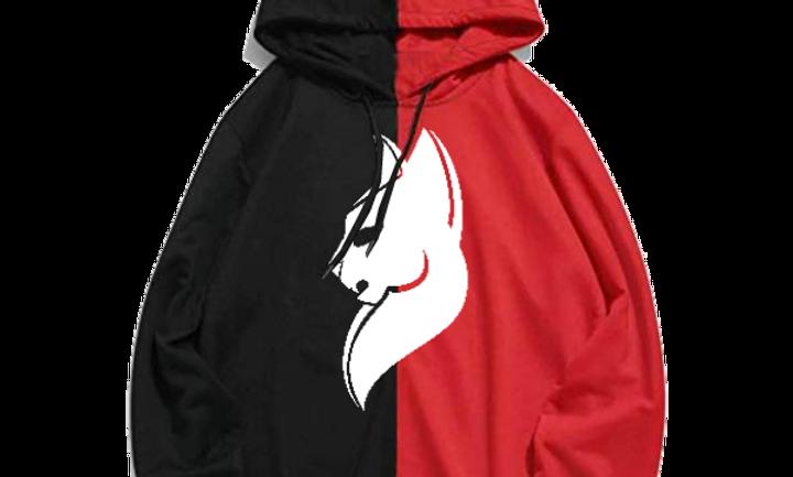 Black And Red Simba Hoodie
