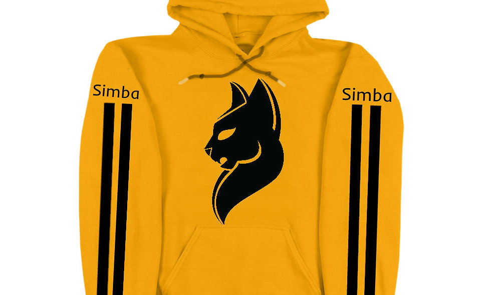 Yellow Simba Hoodie 2