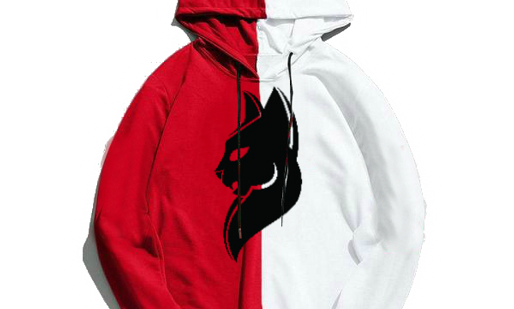 White And Red Simba Hoodie