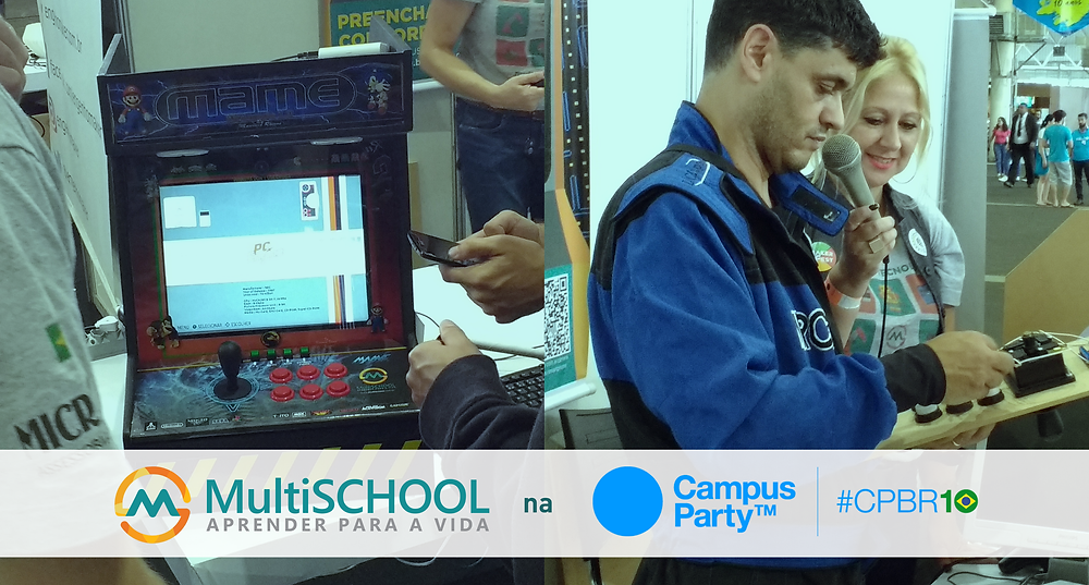 MultiSchool na Campus Party Brasil 2017