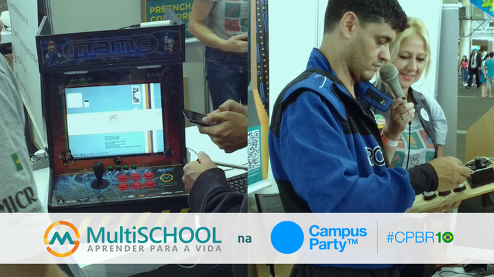 Profº Maurício Ramos constrói uma ARCADE em 2 horas na CPBR10