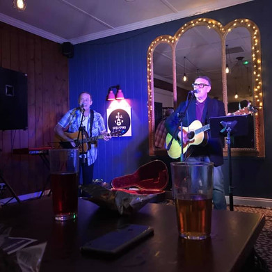 July 2021 - Chris Difford and Melvin Duffy