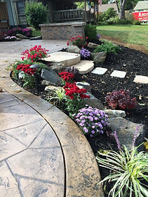 Flagstone - carmel and stained leather b
