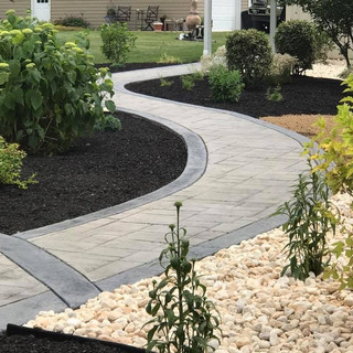 Old english slate with border - Silver a