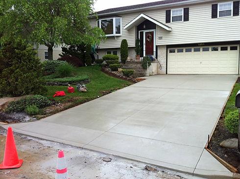 concrete driveways contractor allentown pa
