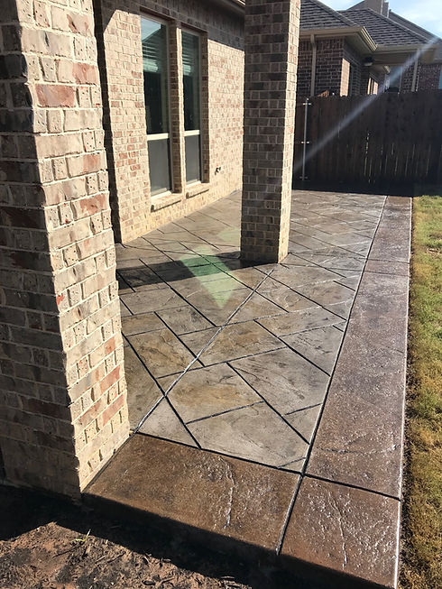 stamped concrete contractors Lehigh Valley PA