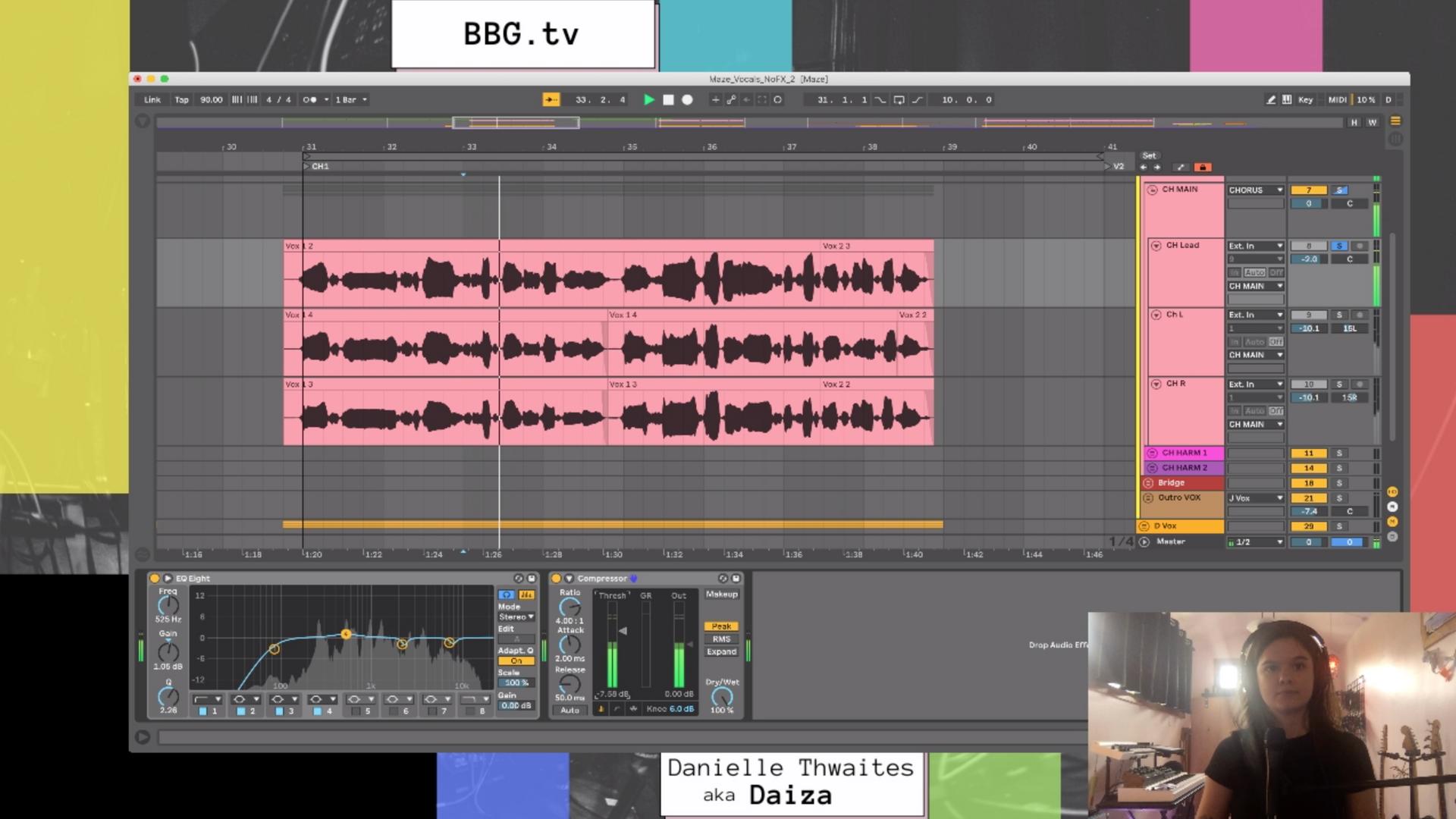 BBG.tv : Vocal Processing w Daiza
