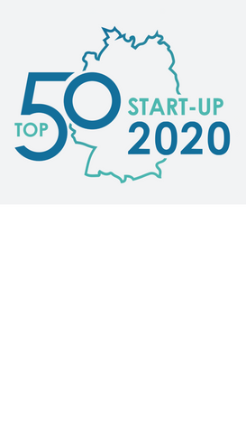 We are honored to be ranked 14th among the TOP 50 start-ups in Germany.