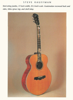 17 inch Lower-bout 1996 The Luthiers Art Healdsburg Festival Book