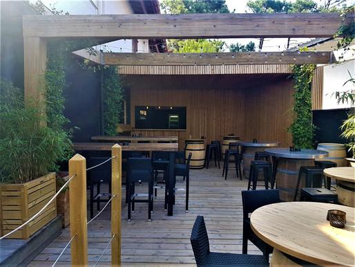 Rénovation d'un bar sur Hossegor