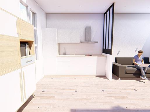 Lancement chantier de rénovation T3 sur Bayonne