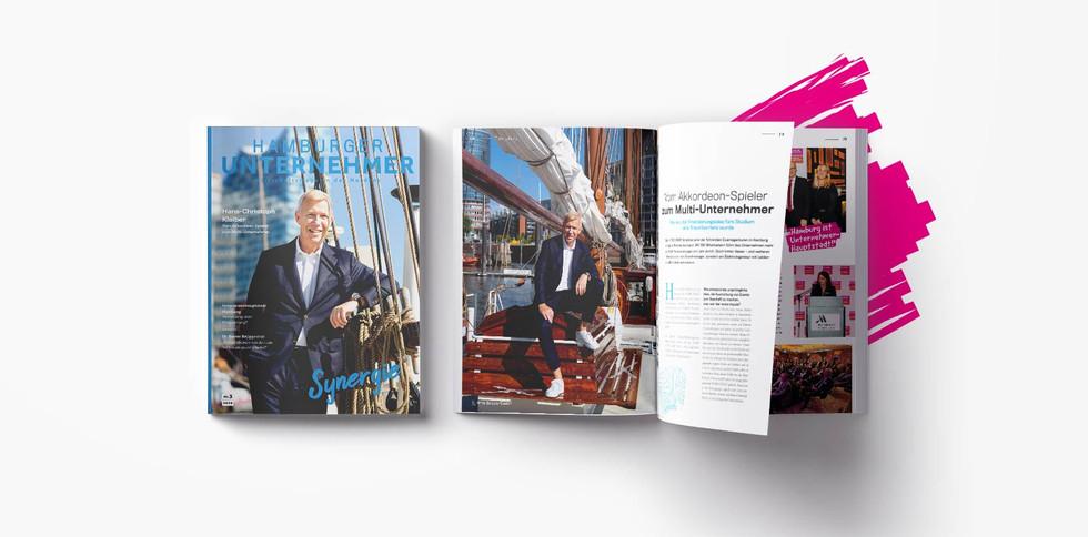 Editorial Design Cover & Innenseiten