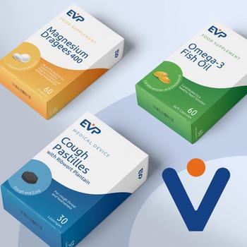 Euro Vital Pharma Corporate Design