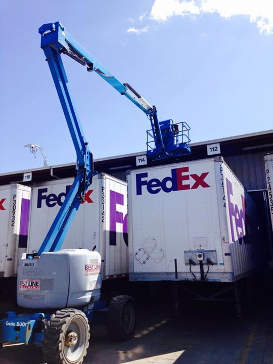FedEx lighting project!