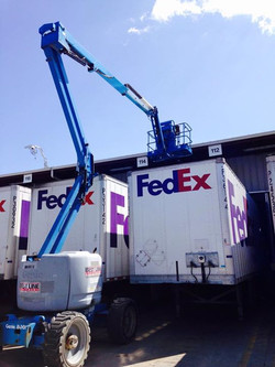 FedEx lighting project!