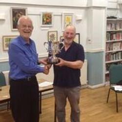 Handicap Winner Charles Doidge with Mike