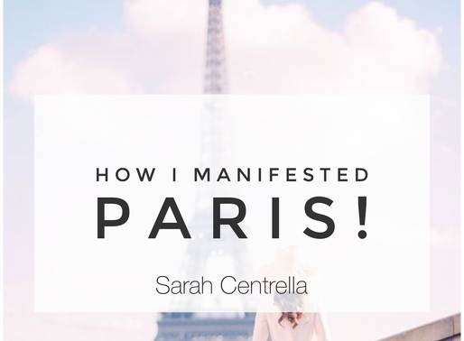 Manifesting Paris!