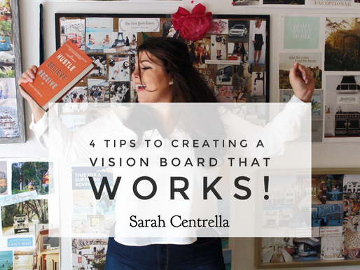 "4 Tips to Creating a ""Vision Board"" that WORKS! #FutureBoards"