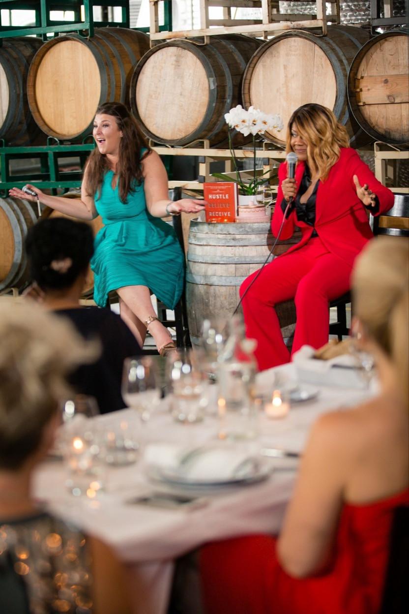 Sarah Centrella event with Diann Valentine