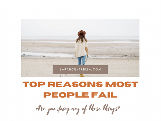 Top Reasons Why Most People Fail