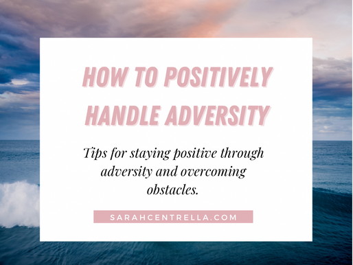 Tips for Handling Adversity