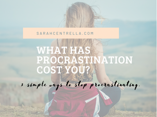 What Has Procrastination Cost You?