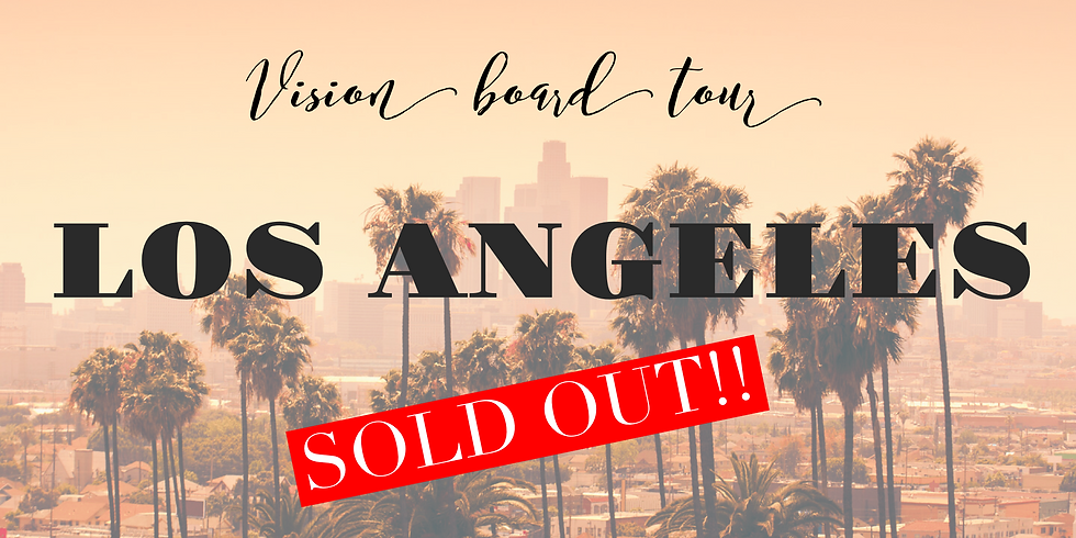 Vision Board Master Class -Los Angeles