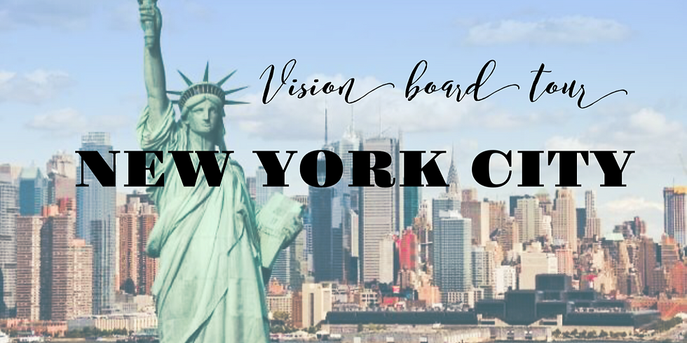 Vision Board Master Class -NEW YORK
