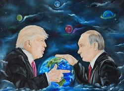 Putin&Trump Skornyakova Art