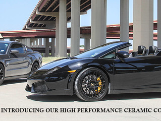 Ceramic Coating Services Now Available!