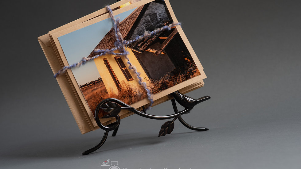 Greeting Cards: Homestead Remnants