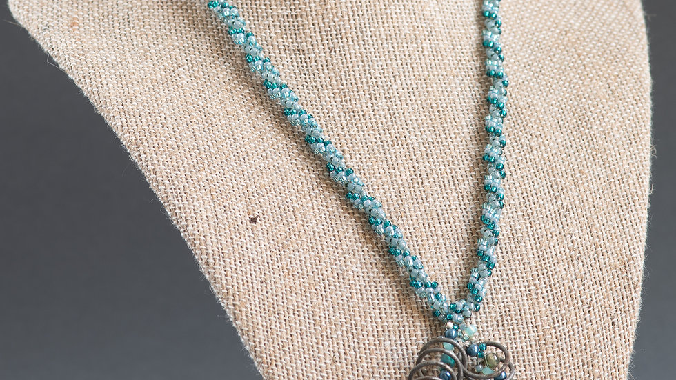Homestead Spring Beaded Necklace