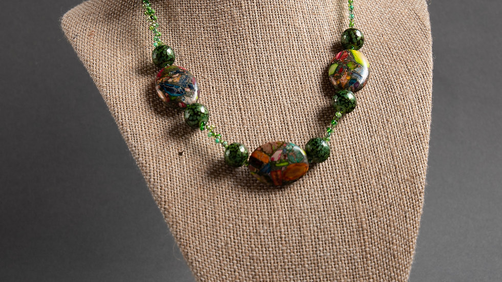 Earth, Wind and Fire Necklace