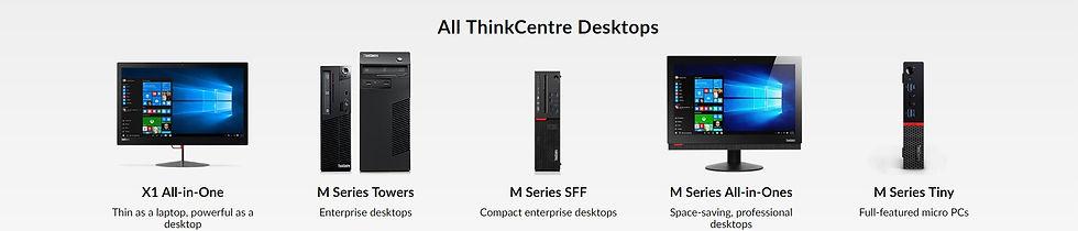 Lenovo ThinkCentre Desktops