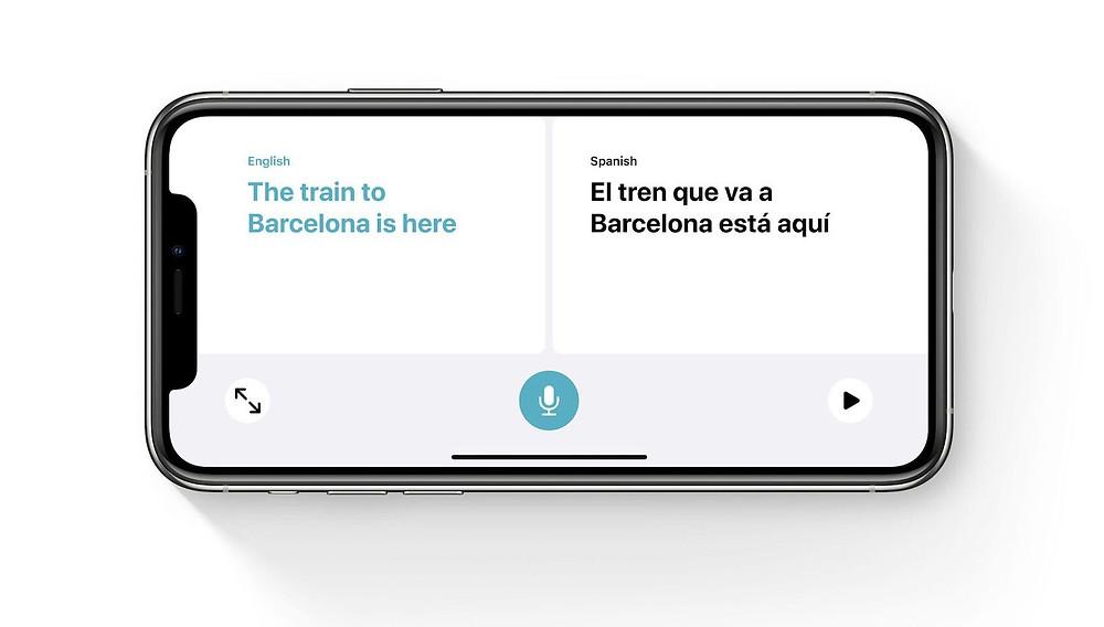 Translate App iOS 14