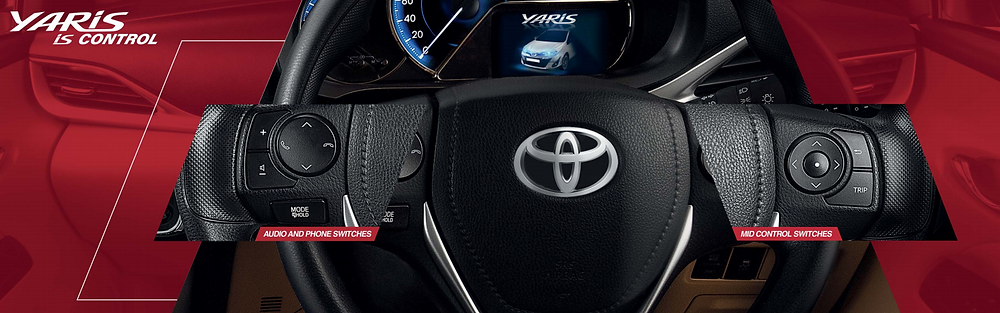 Steering Controls of Toyota Yaris