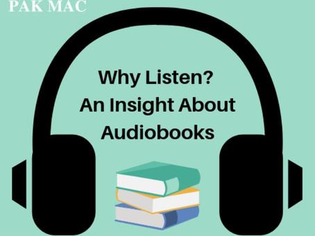 Why Audio Books?