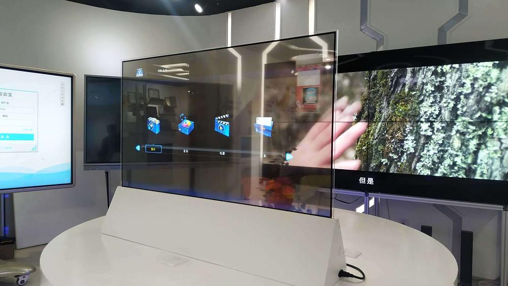LG Transparent TV