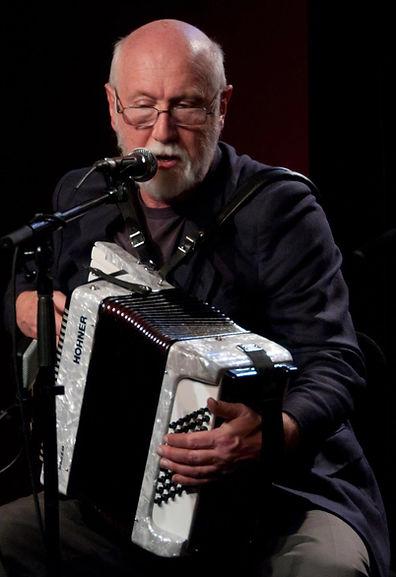 Alan playing Hohner accordion